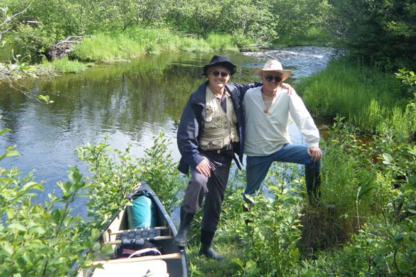 Ken and Laurie Corbett on the Bartholomew River