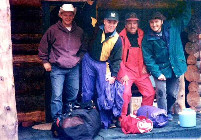 Nashwaak expedition 1996 crew members
